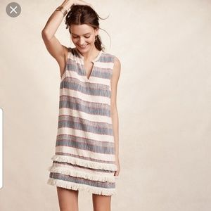 Anthropologie Holding Horses Striped Shift